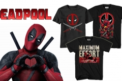 deadpool tees